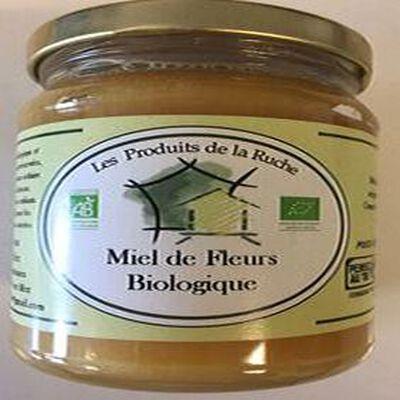 MIEL DE FLEURS BIOLOGIQUE 375GR