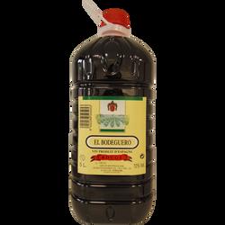 Vin rouge de table d'Espagne El Bodeguero, bouteille en plastique de 5l