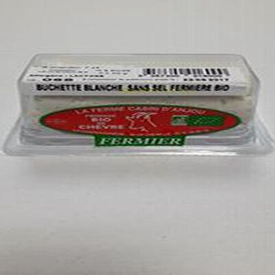 Bûchette blanche sans sel Bio Cabri d'Anjou