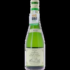 Muscadet Sèvre & Maine AOP Lie blanc DOMAINE DES PERRIERES, bouteillede 50cl