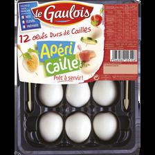 Le Gaulois Oeuf Dur De Caille, , France, 12 Pièces, Barquette, 110g