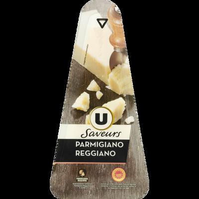 PARMIGIANO REGGIANO AOP lait cru U SAVEURS, 30% de mg, bloc de 200g
