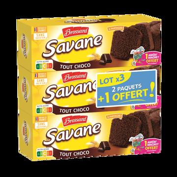 Brossard Savane Tout Chocolat Brossard 310g 2+1 Offert 930g