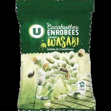 Cacahuètes enrobées saveur wasabi U, 150g