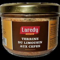 Terrine du Limousin aux cèpes, LAREDY, verrine de 180g