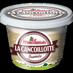 Cancoillotte fumée au lait pasteurisé LE FRANCOMTOIS, 6,5% de MG, 250g