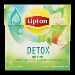 Thé vert détox LIPTON, 20 sachets soit 36g