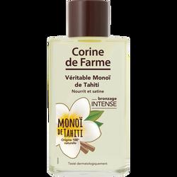 Véritable monoï CORINE DE FARME, flacon en verre de 100ml