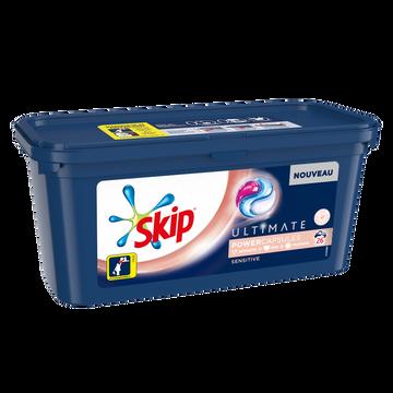 Skip Lessive 3en1 Sensitive Skip, X26 Soit 0,702kg