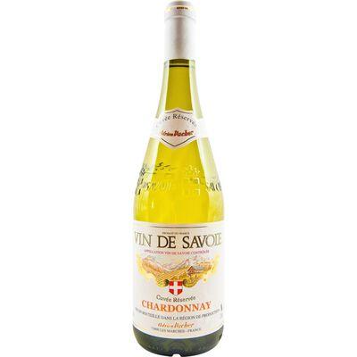 Vin blanc de Savoie Chardonnay AOC CUVEE RESERVEE, 75cl