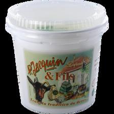 Faisselle au lait de chèvre frais pasteurisé JACQUIN,  5% de MG, 500g