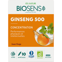 BSE AMPOULE GINSENG 500