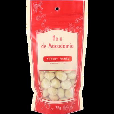 Noix de macadamia ALBERT MENES, sachet de 75 g