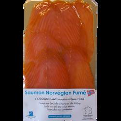 Saumon fumé norvégien 6 tranches, 240g