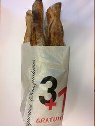 Baguettes savignolaises 3 + 1 gratuite 4 x 250g