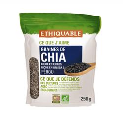 Graines de chia Pérou BIO ETHIQUABLE 250g