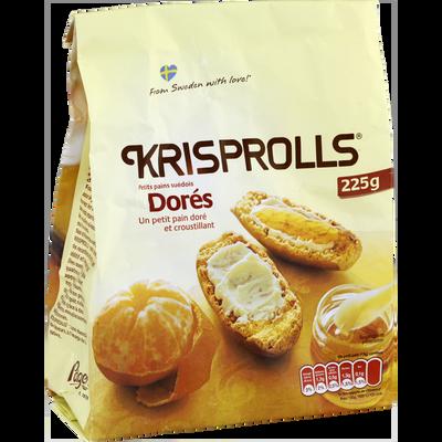 Pains grillés Suédois KRISPROLLS, 225g