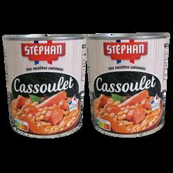 Cassoulet STEPHAN boîte 2x4/4 1,680kg