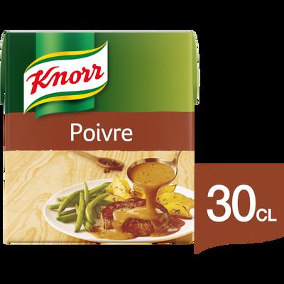 Sauce au poivre KNORR, 30cl