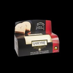 Bloc de foie gras de canard du suc ouest avec morceaux LABEYRIE, 460g
