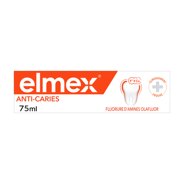 Elmex Dentifrice Anti-caries Elmex, Tube De 75ml