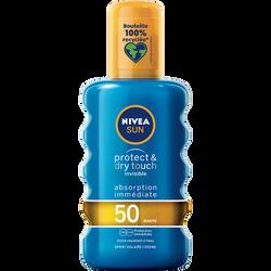 Spray protect & dry fps50 NIVEA SUN, 200ml