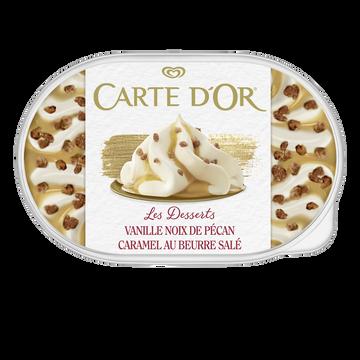 Carte d'Or Crème Glacée Façon Glacier Vanille Pécan Carte D'or, 500g