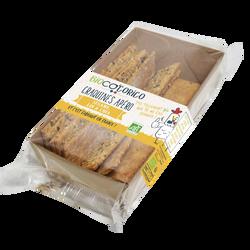 Craquines apéro bio 3 graines sésame lin chia BIOCO CORICO, 80g