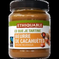 Beurre de cacahuètes Nicaragua Bio ETHIQUABLE, 350g