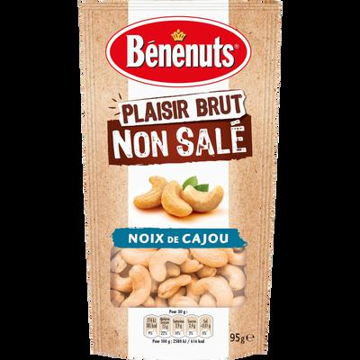 Plaisir brut non salé noix de cajou BENENUTS, 95g