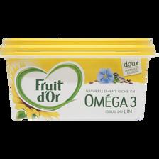 Margarine allégée végétale doux FRUIT D'OR, 60% de MG, 510g
