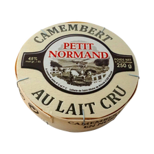 Camembert au lait cru PETIT NORMAND, 22% de MG, 250g