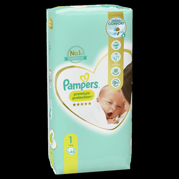 Pampers Couches Nwe Baby Premium Protection Pampers 3-4kg Geant T1 X44