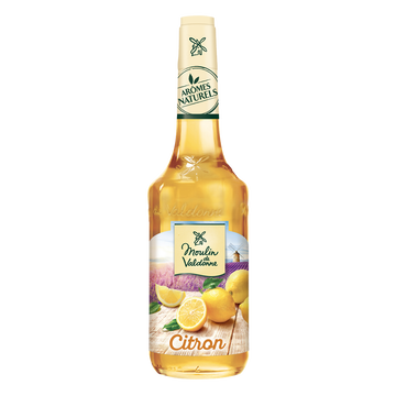 Moulin de Valdonne Sirop De Citron Moulin De Valdonne, Bouteille En Verre De 70cl