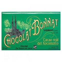 CHOCOLAT NOIR GRAND CRU D'EXCEPTION REAL DEL XOCONUZCO 100G - BONNAT CHOCOLATIER