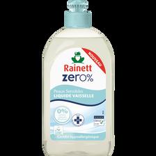 Liquide vaisselle 0% pour peaux sensible RAINETT, flacon de 500ml
