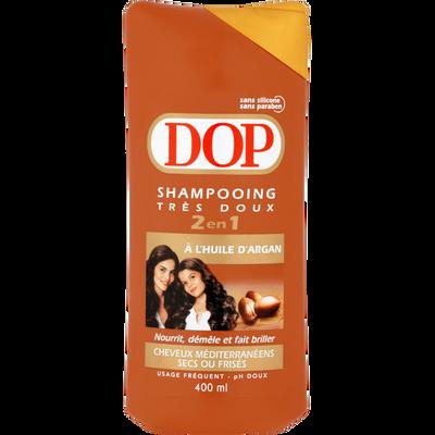 Shampooing 2 en 1 à l'huile d'argan chevex secs et frisés DOP, 400ml