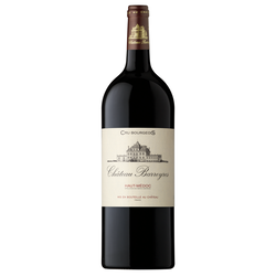 Vin rouge AOP Haut Médoc cru bourgeois Château de Barreyres, bouteillede 1,5l