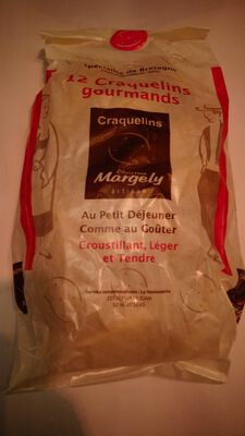 12 craquelins margely  140gr