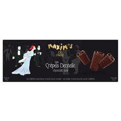 Étui 18 crêpes dentelle chocolat MAXIM'S DE PARIS EPICURE Sélection