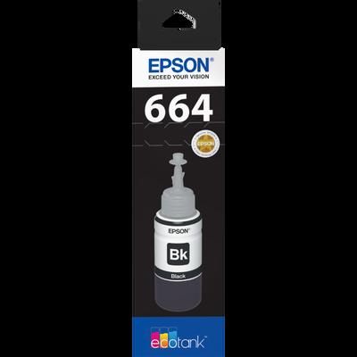 Recharge d'encre Ecotank EPSON, noir, compatible avec l'imprimante Ecotank ET-2500, sous blister