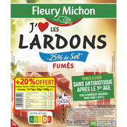 Fleury Michon Lardons Fumés