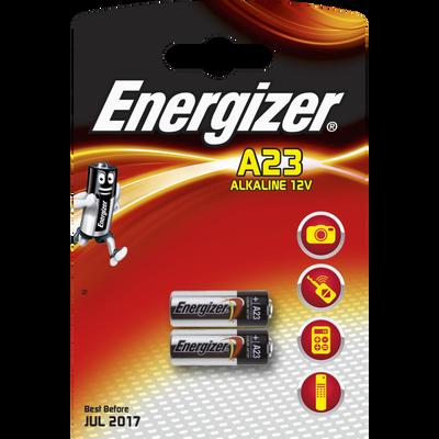 Mini piles A23 ENERGIZER, pack de 2