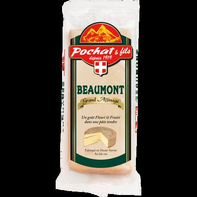 Beaumont de Savoie fromage au lait cru grand affinage POCHAT, 34% de MG, 200g