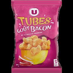 Tubes goût bacon U, sachet de 85g