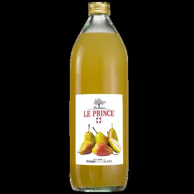 Pur jus de poire des Alpes THOMAS LE PRINCE, 1 litre