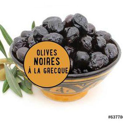 OLIVES NOIRES FACON GRECQUE 200G