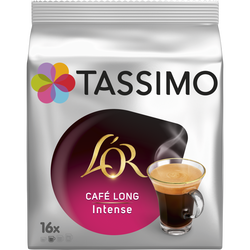 Café long intense l'Or TASSIMO, x16 soit 128g