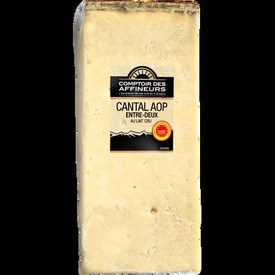 Cantal entre Deux AOP lait cru 30%mg COMPTOIR DES AFFINEURS 180g