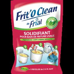 Solidifiant pour bain de friture usagé Frit'o Clean FRIAL, 105g